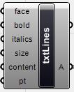 txtlines